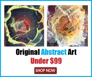 abstract art box