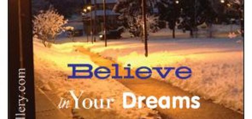 believe in dreams bus magnet