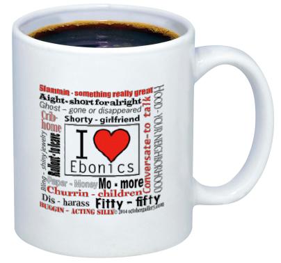 ebonics mug pic