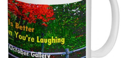 laugh mug