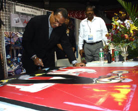 Actor/artist Billy Dee Williams at Expo