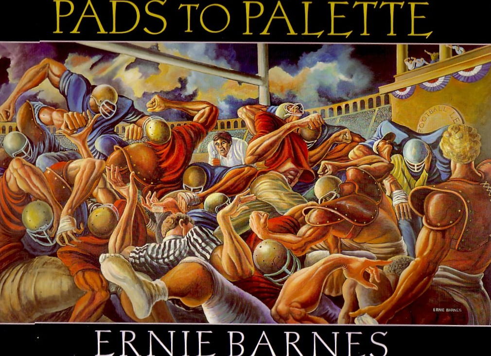 Pads To Palette By Ernie Barnes Book October Gallery