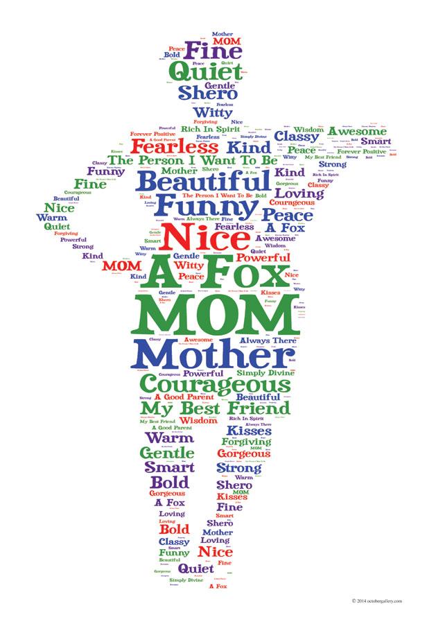 motherstandingwordart