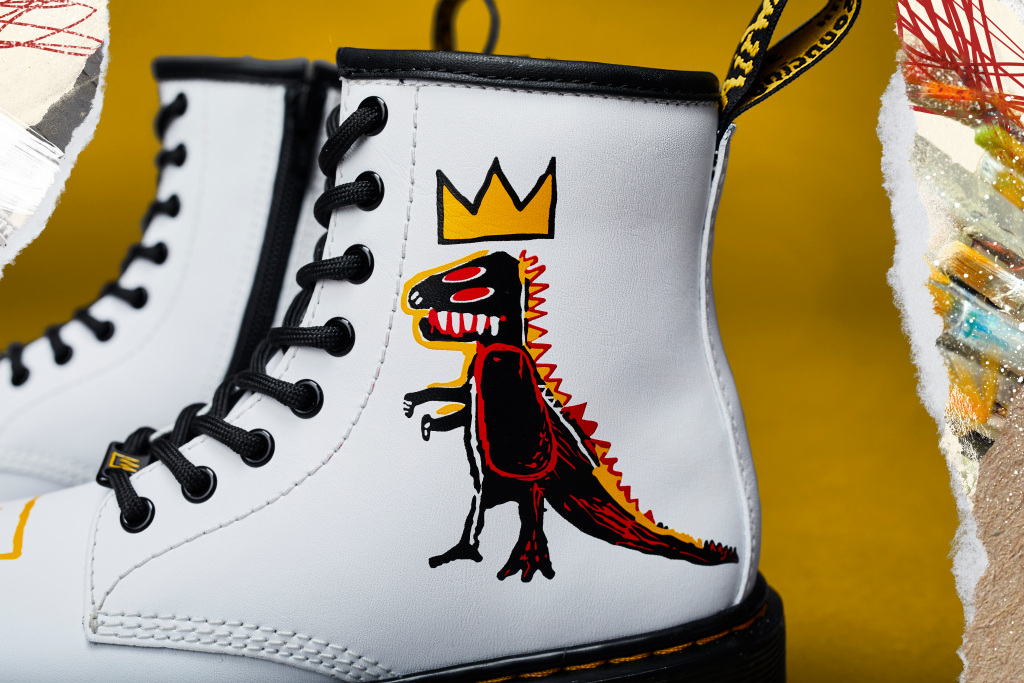 Dr. Martens' Unveils New Collaboration with the Basquiat Estate