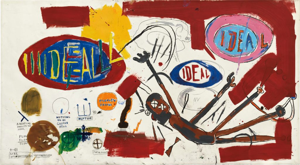 Phillips to Auction $10 M. Basquiat in July Contemporary Evening Sale