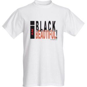 I Am Black T shirt