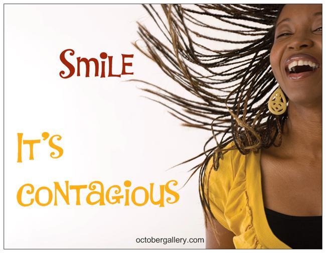 It's Contagious Smile