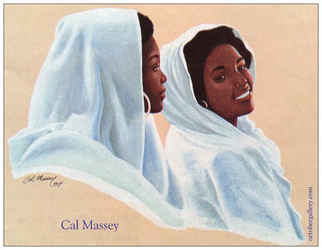 Massey postcard expo 88 magnet