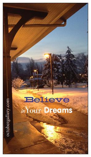 believe in dreams bus magnet